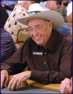 Doyle Brunson in 2006 World Series of Poker - Rio Las Vegas | photo by flipchip / LasVegasVegas.com
