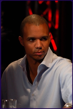 Phil Ivey at the Million Euro Challenge | photo by Ralph Unden